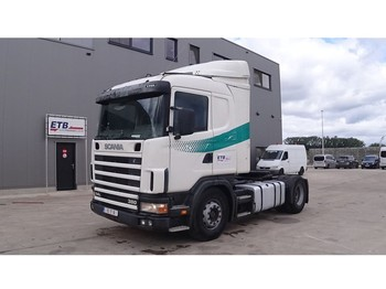 Tractor unit Scania 114 - 380 (BOITE MANUELLE / MANUAL GEARBOX)