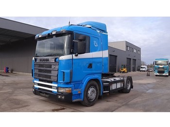 Tractor unit Scania 114 - 380 (MANUAL GEARBOX / BOITE MANUELLE / HYDRAULIC)
