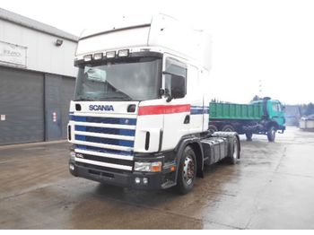 Scania 114-380 Topline (MANUAL GEARBOX) - tractor unit