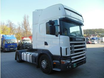 Scania 124L/420, RETARDER, MANUELL  - شاحنة جرار