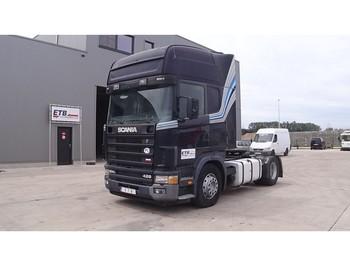 Scania 124 - 420 Topline (MANUAL GEARBOX) - شاحنة جرار