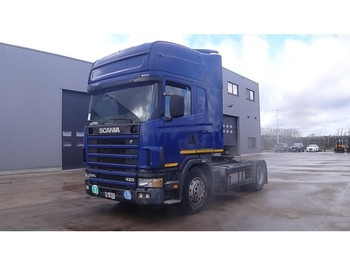 Tractor unit Scania 124 - 420 Topline (MANUAL GEARBOX / BOITE MANUELLE)