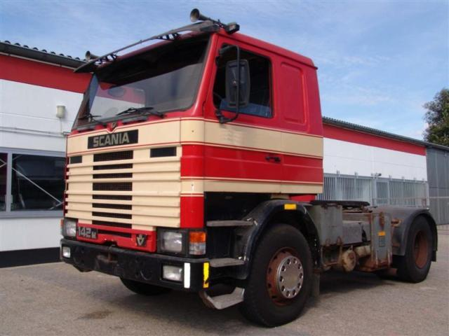scania 142m 400 v8 tractor unit from germany for sale at truck1 id 701706. Black Bedroom Furniture Sets. Home Design Ideas