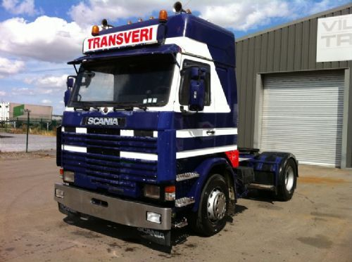 scania 142 v8 intercooler tractor unit from belgium for sale at truck1 id 1038990. Black Bedroom Furniture Sets. Home Design Ideas