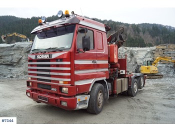 Scania 143 - شاحنة جرار