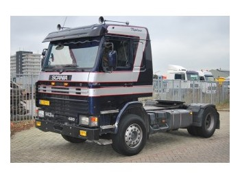 scania 143 h 420 manual gearbox tractor unit from netherlands for rh truck1 eu Scania Trucks Scania 143M