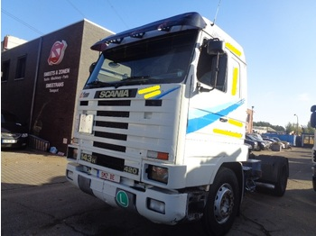 Tractor unit Scania 143 M 420 Topstreamline