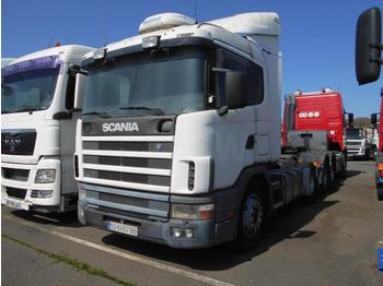 Tractor unit Scania 144L 460