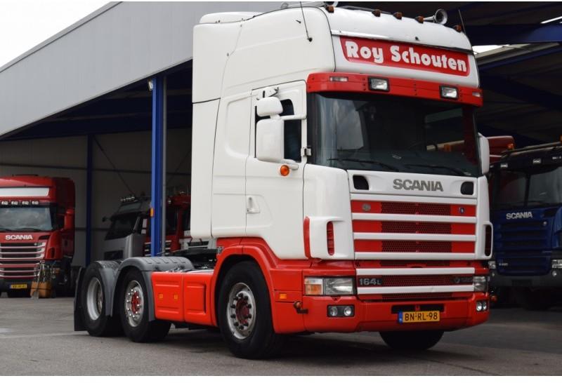 Scania 164 580 Retarder 6x2 Topline Tractor Unit