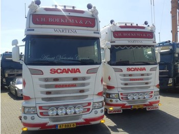 Tractor unit Scania 2 x R450 Streamline