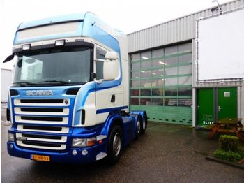 Tractor unit Scania 480 A 6X2/4 Topline, euro 5, Standheizung, Roofa