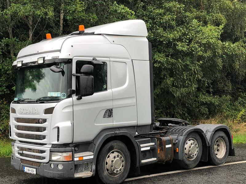 Scania G440 tractor unit from Ireland for sale at Truck1, ID