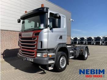 Scania G440 Euro 5 4x4 226.080km - MANUAL / RETARDER - شاحنة جرار