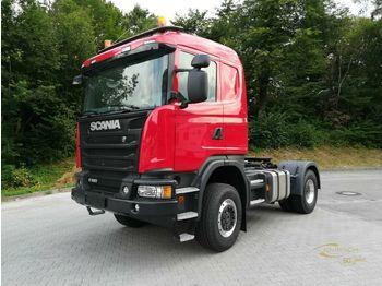 Scania G450CA4X4HHA Hydraulik / NEUWERTIG / 4X4  - شاحنة جرار
