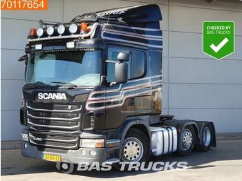 Scania G480 6X2 Manual Retarder Lift-Lenkachse Euro 5 - شاحنة جرار