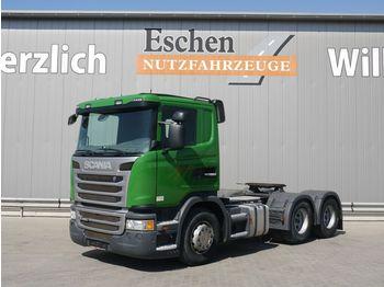 Tractor unit Scania G 400, 6x4, Kipphydraulik, Manuell, Klima, EUR5