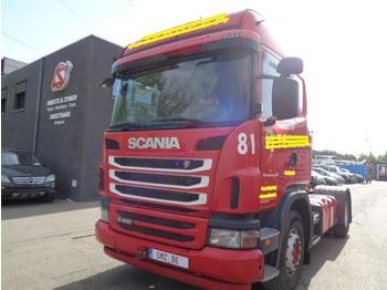 شاحنة جرار Scania G 400 highline hydraulic