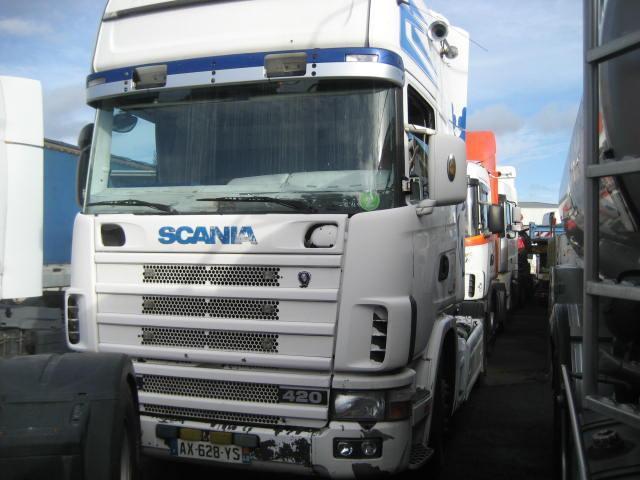 tractor unit Scania L 124L420