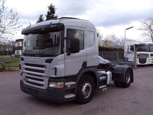 Tractor Trailer Driveline : Scania p manual retarder hydraulic tractor unit from