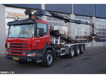 Tractor unit Scania P 114.380 8x4 20 ton/meter Z-kraan: picture 1