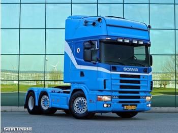 Tractor unit Scania R144 530 6X2 VOL ADR ALLE KLASSEN PTO KING 981.500 KM NL TRUCK
