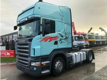 Scania R400 MANUAL + HYDRAULIEK + RETARDER  - شاحنة جرار