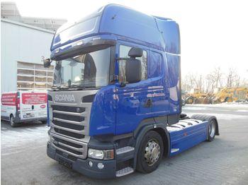 Scania R410, LOWDECK, RETARDER, EURO 6, ACC, TOP  - شاحنة جرار