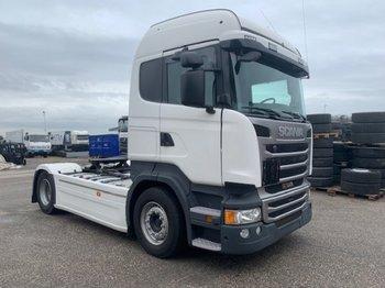 Tractor unit Scania R410 Streamline, ADR+Tankwagenkompressor ,Retarder