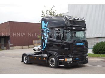 Scania R440 4x2 LowLiner Topline Leder Alcoa TOP Euro-6  - tractor unit