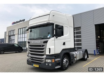 Scania R440 Topline, Euro 5, MANUAL GEARBOX, Intarder - tractor unit