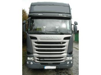 Scania R450, LOWDECK, RETARDER, ALU FELGEN, TOP  - شاحنة جرار
