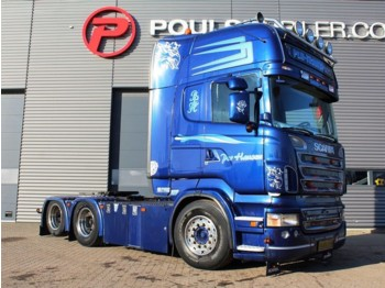 Scania R500 6x2 3100mm hydr. - tractor unit