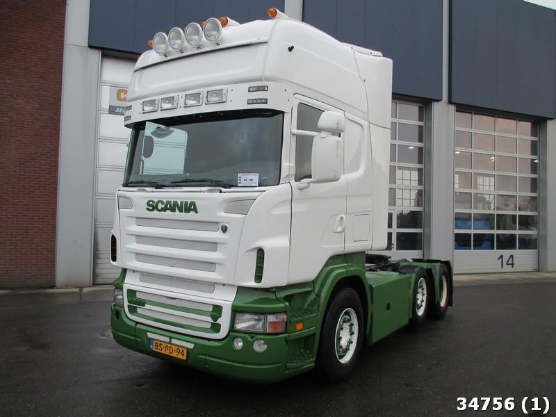 Super Scania R500 6x2 V8 Euro 5 Manual tractor unit from Netherlands for FV-79