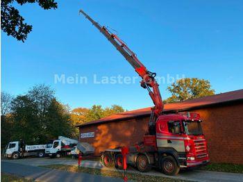Scania R500  Fassi F 900 XP 27,6 m -1800 kg  Seilwinde  - شاحنة جرار