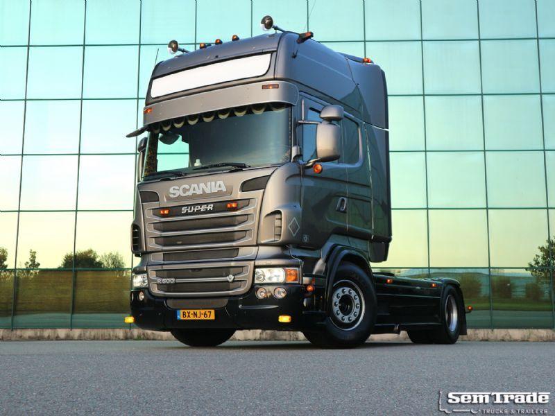 scania r500 v8 euro 5 king manual retarder super condition holland rh truck1 eu Scania Longline Scania V8 Engine Specs