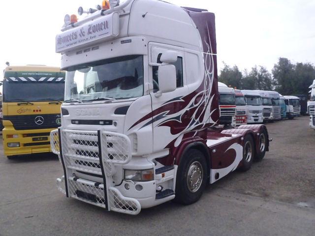 scania r500 topline show truck tractor unit from belgium. Black Bedroom Furniture Sets. Home Design Ideas