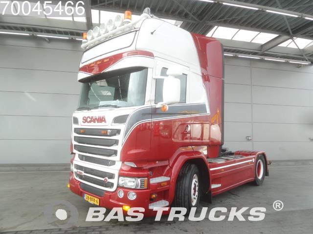 scania r520 4x2 v8 manual euro 6 tractor unit from netherlands for rh truck1 eu Scania V8 Interior Scania V8 Logo