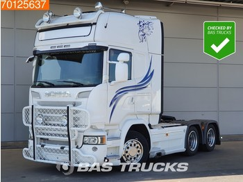 Scania R580 6X4 Retarder V8 Navi Euro 6 - وحدة جر
