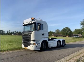 Scania R580 6x2/4 - Full-air - Oldskool - Hydrolic - شاحنة جرار