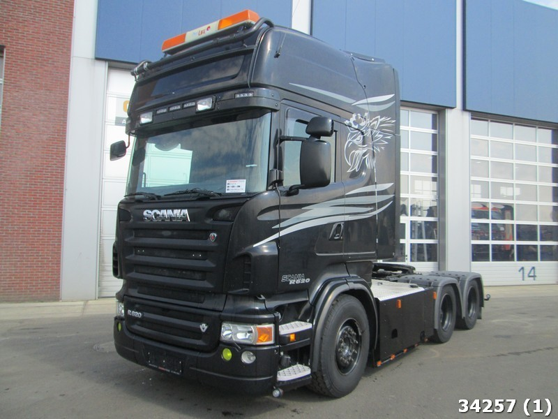 Populaire Scania R620 V8 Retarder Manual tractor unit from Netherlands for  RI79