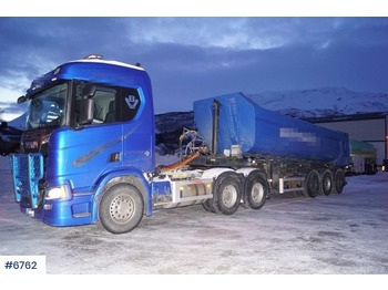 Scania R650 - شاحنة جرار
