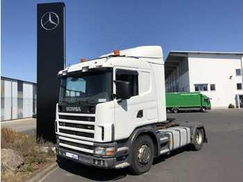 Scania R 124 LA 420 4x2 Retarder Klima manuell Euro 3  - شاحنة جرار