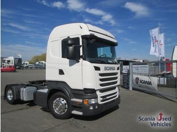 تأجير تمويلي Scania R 410 LA4x2MNA Kipphydraulik - شاحنة جرار