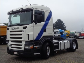 Tractor unit Scania R 420 + Manual + pto