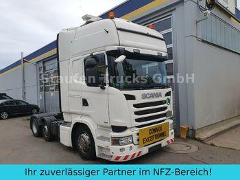 Tractor unit Scania R 490 Topline 6X2 Vorlaufa. LOW EURO 6 Schwerlas
