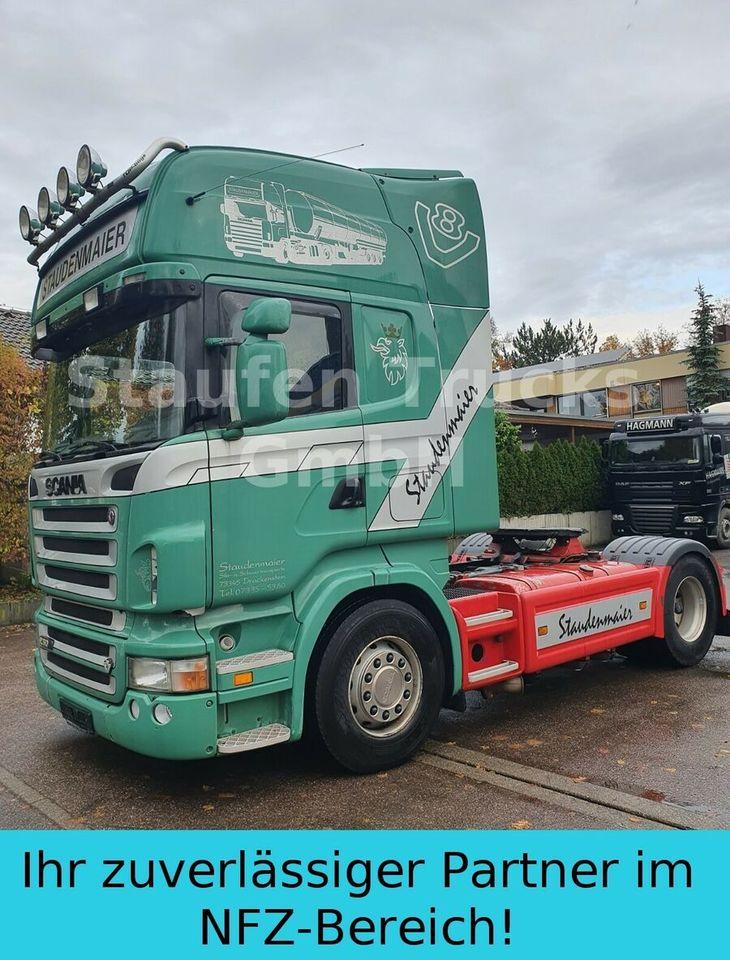 tractor unit Scania R 500  TOPLINE  Standard E5  Kipphydr. 1.Hd