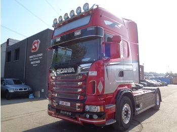 Tractor unit Scania R 560 Topline Full options manual/Air Showtruck