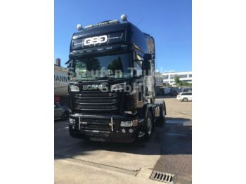 Tractor unit Scania R 580 Topline 55 to GG ADR  VOLL !! TOPZUSTAND!