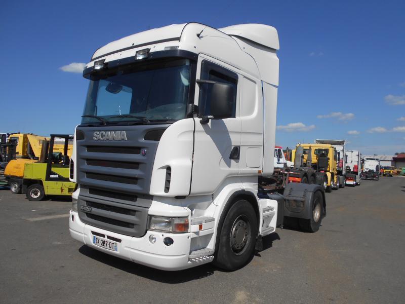 tractor unit Scania R R 420