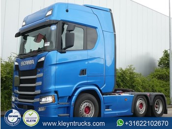 Scania S500 6x2/4 nb standairco - شاحنة جرار